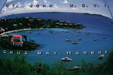 St. John U.S.V.I Cruz Bay Harbor US Virgin Islands National Park - Ship Postcard