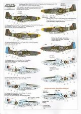 Xtradecal 1:48 P-51D Mustang in RAF service *6 markings*