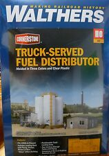 Walthers Cornerstone HO #4038 Truck-Served Fuel Distributor (kit form) NEW