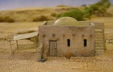 Renedra Mud Brick House withAccessory Sprue for 28mm Historical Wargames