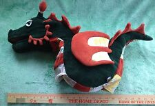 Melissa and Doug hand puppet Dragon - Green, orange, and gold