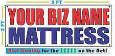 CUSTOM NAME MATTRESS Banner Sign NEW Larger Size Best Quality for the $$$