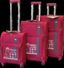 "3 Piece Spinner Luggage Set, super light weight , 22"" 26"" 30"" Pink"