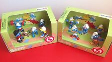 New SMURFS Sport Schleich 2 Sets Scenery 10 Figures