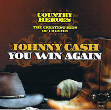 "JOHNNY CASH ""You Win Again"" COUNTRY HEROES NEU & OVP Dynamic 2007"