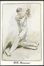 Sports Postcard - Cricket - Walter Hammond, Gloucestershire & England A8297