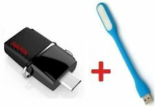 SanDisk Ultra 16GB OTG Dual USB 3.0 16 GB Pen Drive With FREE USB LIGHT...