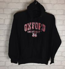OXFORD UNIVERSITY HOODIE SWEATER PULLOVER HIPSTER URBAN GRUNGE UK M