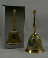 SOLID BRASS ENAMELLED BELL(NEW, BOXES MAY BE SLIGHTLY DAMAGED) RC2641  10C