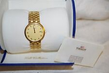 Tissot 18K 750 Solid Gold Swiss Men's Watch - Link Band - Original Box - EUC