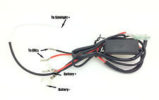 Daytime Running Lights Lamps DRL Auto Switch Relay Dim Dimming Indicator Smart