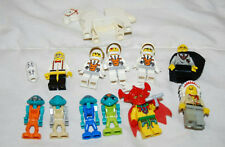 LOT OF 11 LEGOS MINIFIGURES AND A HORSE SPACEMAN HARRY POTTER INDIAN WARRIOR