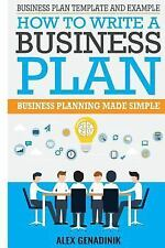 Business Plan Template and Example: How to Write a Business Plan : Business...
