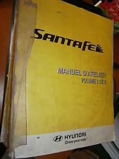 Hyundai SANTA FE SANTAFE 2006 : MANUEL D'ATELIER