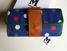 MISSONI purse / Wallet Genuine! RRP £ 199.00 a pois