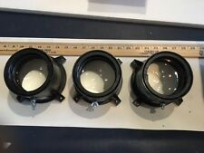 Set of Three US Precision Lens - Delta 24 Model - From Projection TV w/mounts