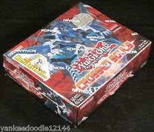 YUGIOH CROSSED SOULS Factory Sealed BOOSTER BOX 1st EDITION, 24 packs/9 cards