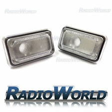 VW Golf Jetta Polo Passat  Clear White Side Repeater Indicator Light Lamp Lense