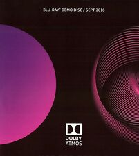 2016 Dolby Atmos Demo Demonstration Disc BluRay Blu Ray BRAND NEW SEALED