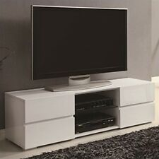 Coaster TV STAND WHITE- 700825 TV STAND NEW
