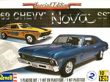 Revell Monogram 1:25 '69 Chevy Nova SS Car Model Kit