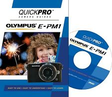QUICKPro Training DVD Olympus E-PM1 -  NEW  Free US Shipping