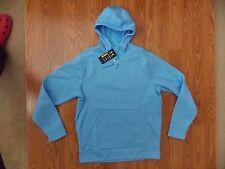 NWT Mens UNDER ARMOUR Loose Fit Cold Gear Hoodie Sweat Shirt Light Blue L Large