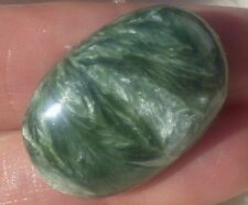 29.5 CT Polished Gem Quality SERAPHINITE Cabochon from Russia