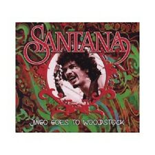 Santana-jingo goes to Woodstock CD Classic Rock & Pop, Flower Power Nuovo