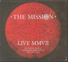 """THE MISSION """"Live MMVII"""" Ltd 2CD Digi 2007 Concert Live"""