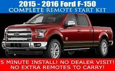 2015 2016 FORD F150 F-150 REMOTE START CAR STARTER PLUG AND PLAY - FAST INSTALL!