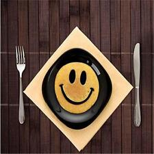 Kitchen Egg Fried Silicone Cooking Happy Smile Face Pancake Breakfast Props LA