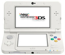 The *NEW* 2014 Nintendo 3DS Console White AUS PAL / C Stick + Cover Plate No 011