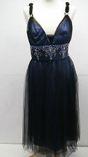 BNWT Blackand Blue Cocktail?occassion Dress from Dynasty size 12