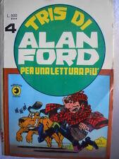 Alan Ford TRIS di Alan Ford  n°4 (nr 56-57-58 )   [G309]