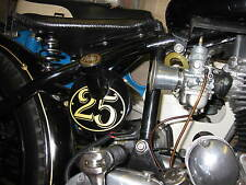 bobber oil tank decal  chopper Street fighter rat