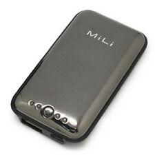 NEW MiLi Gray Power Miracle External Power Bank w USB Cable Apple iPhone 4 4S