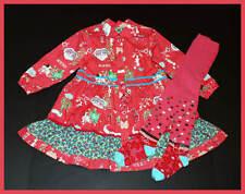 Oilily SHANNAH Bunny Pink Dress~&~RAZIYA Polka Dot Pink Tights 2pc Set 104 4 5