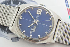 NICE SEIKO LM 5606-7050 WITH 2 WINDOWS DIAL AUTOMATIC 23 JEWELS JAPAN WATCH