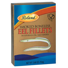 Smoked Boneless Eel Fillets by Roland (3.66 ounce)