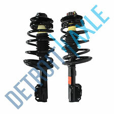 2 New Front Driver and Passenger Complete Ready Strut Assembly 4 Cyl Engine