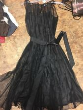 ZAHARA COUTURE BLACK DRESS RETAIL $106