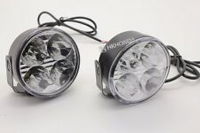 2pcs 4 LED best Round Daytime Driving Running Light DRL Car Fog Lamp Head Light