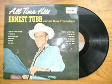 ERNEST TUBB & TEXAS TROUBADOURS ALL TIME HITS 1969 CORAL CPS 36
