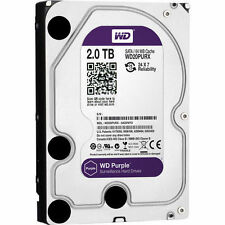 2TB WD Purple SATA Hard Drive HDD Western Digital for DVR CCTV Camera Security