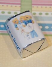 30 Baby Shower It's A Boy Bears Hershey Candy Nugget Wrappers Stickers