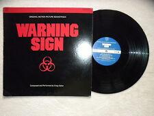 "LP CRAIG SAFAN ""Warning sign"" SOUTHERN CROSS RECORDS SCRS 1012 USA §"