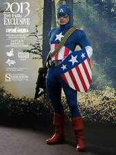 Hot Toys Captain America Star Spangled Man First Avenger 1/6 Scale Figure NEW