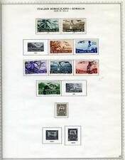 ITALY COLONY SOMALIA MINT HINGED AND USED COLLECTION AS SHOWN