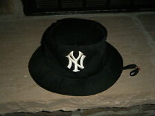 New York Yankees Kids Kango Black Hat W/Strap Sun Shader Small Lightly Used
